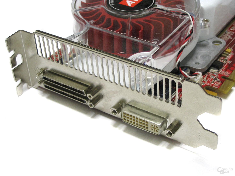 Radeon X1900 CF-Edition Slotblech