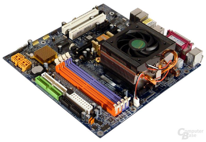 AMD-Testsystem