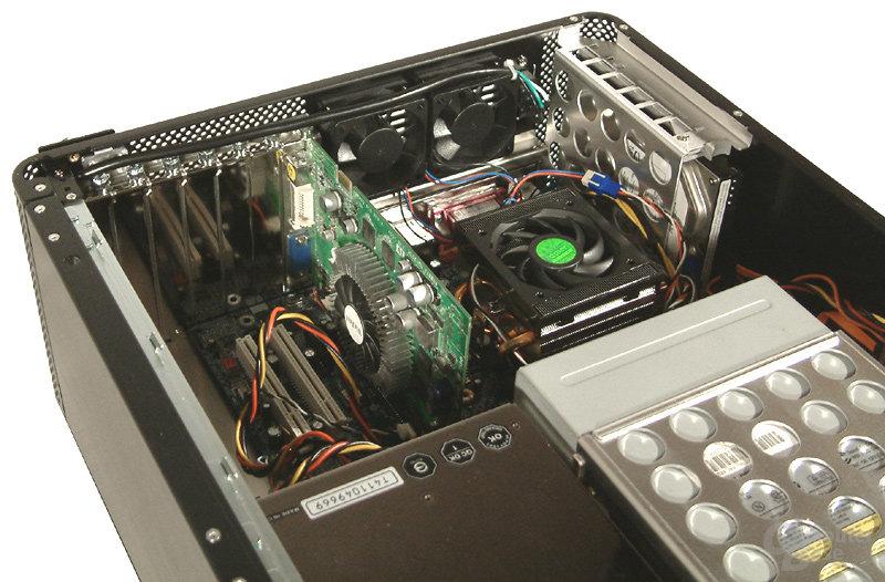 V800 mit Testsystem