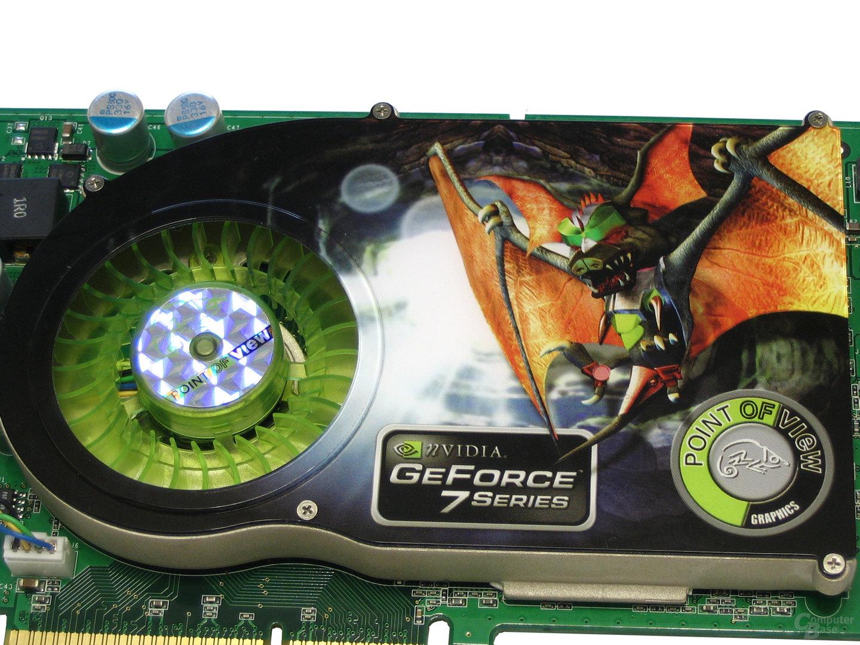 Kühlsystem POV GeForce 7800 GS