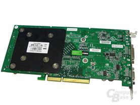 Rückseite POV GeForce 7800 GS