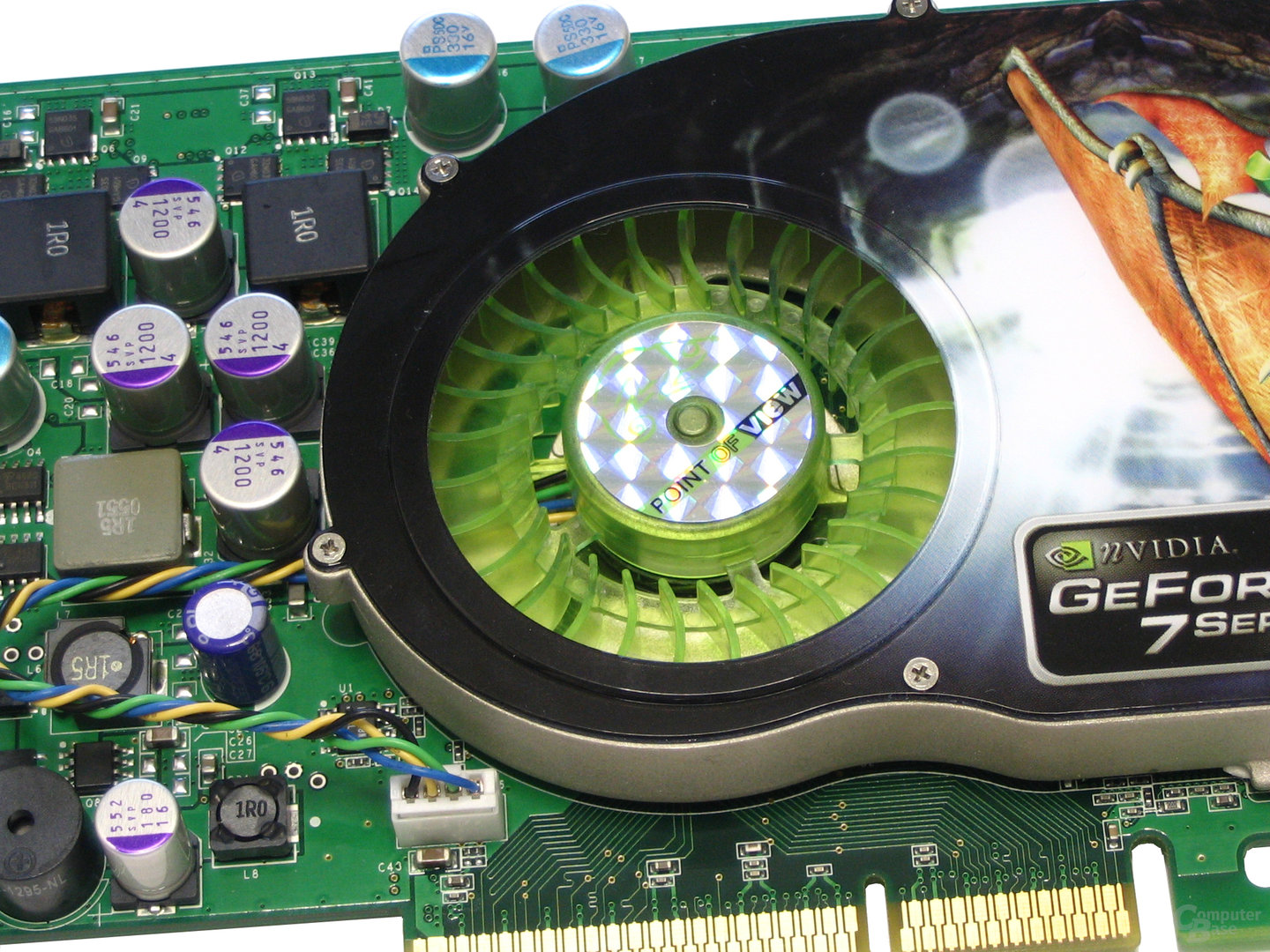 Radiallüfter POV GeForce 7800 GS
