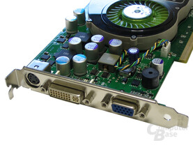 Slotblende POV GeForce 7800 GS
