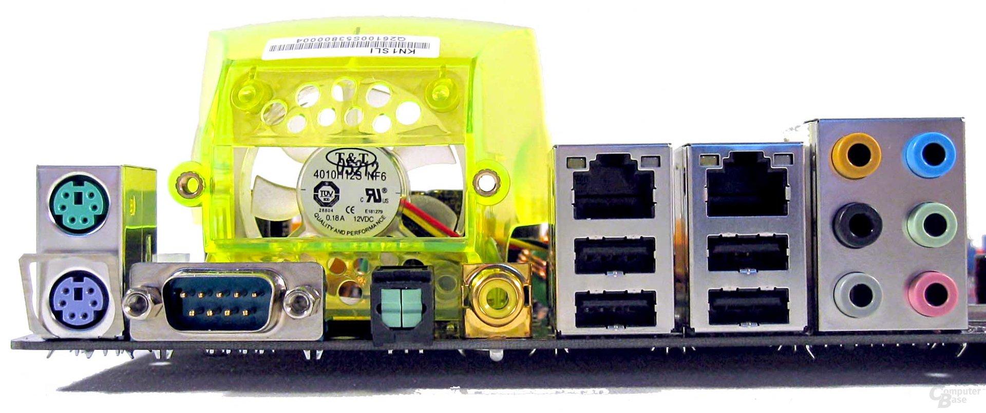 ECS KN1 SLI Extreme ATX-Blende