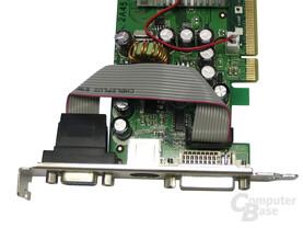 Anschlüsse Leadtek GeForce 7300 GS