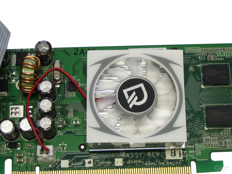 Lüfter Leadtek GeForce 7300 GS