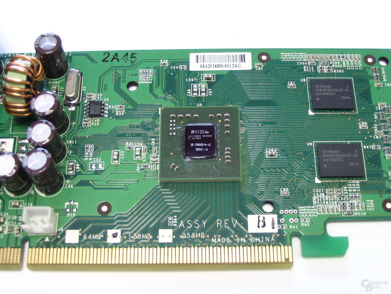 Leadtek GeForce 7300 GS Karte