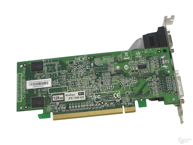 Rückseite Leadtek GeForce 7300 GS