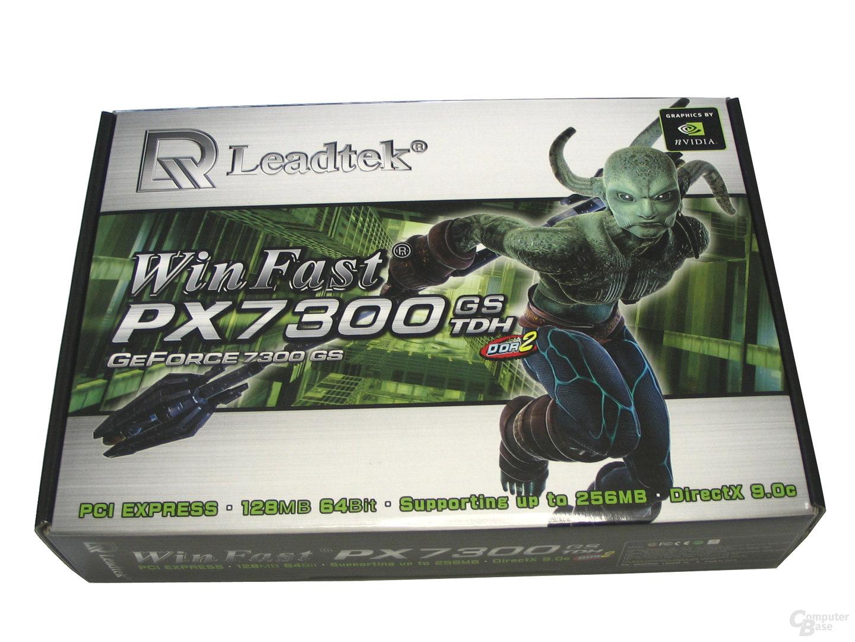 Verpackung Leadtek GeForce 7300 GS