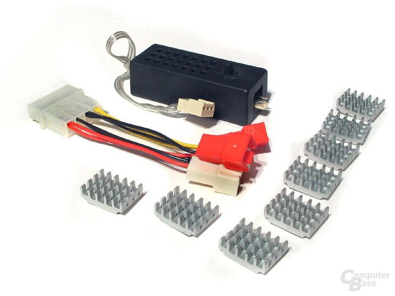 NQ Zubehör: Steuerung, Adapter, RAM-Heatsinks