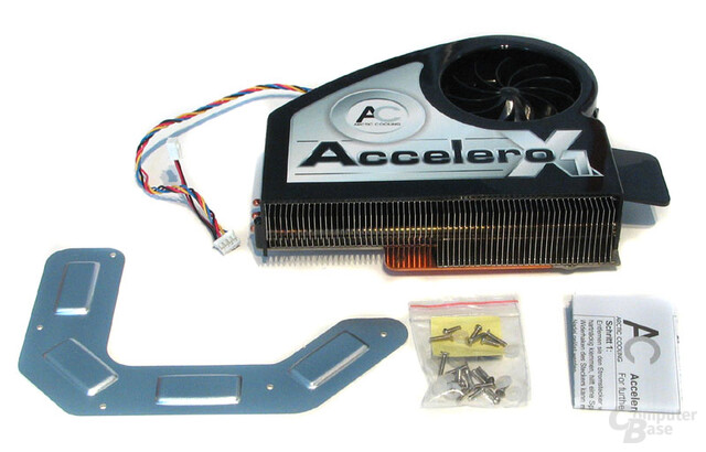 Lieferumfang Arctic-Cooling X1