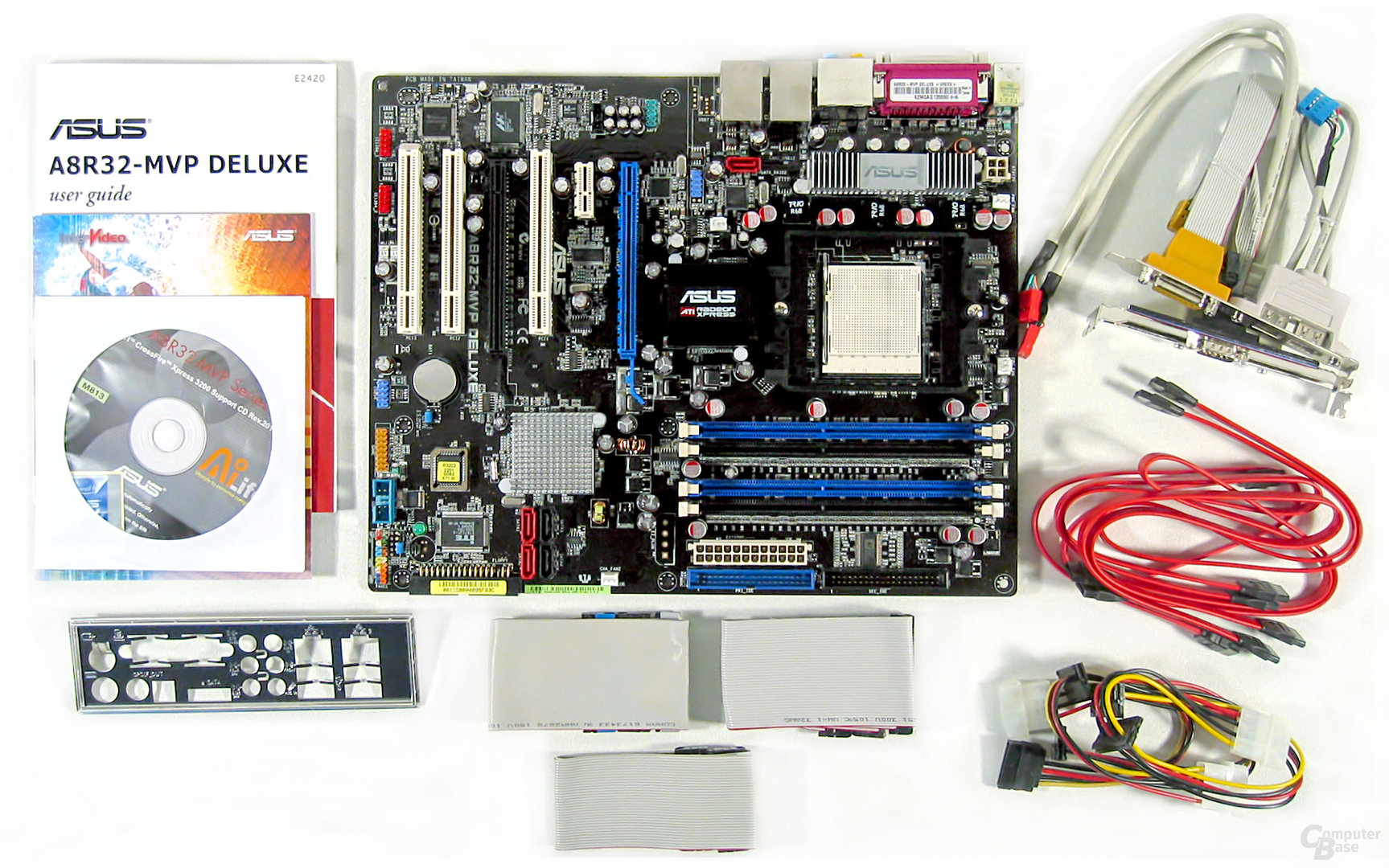 Asus A8R32-MVP Deluxe Lieferumfang