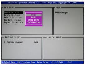 Asus A8R32-MVP SiI-RAID-Controller