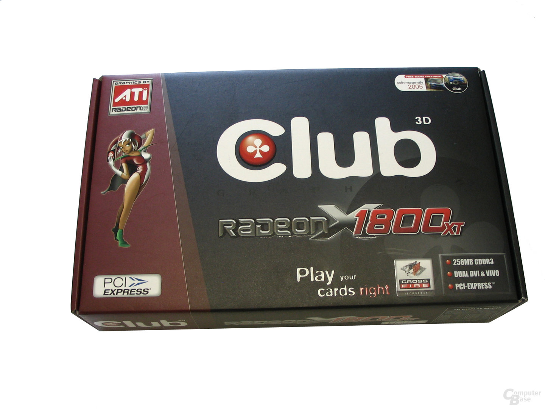 Club3D Radeon X1800 XT 256 MB Verpackung