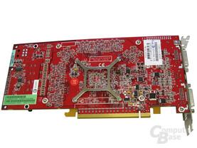 Rückseite Club3D Radeon X1800 XT 256 MB
