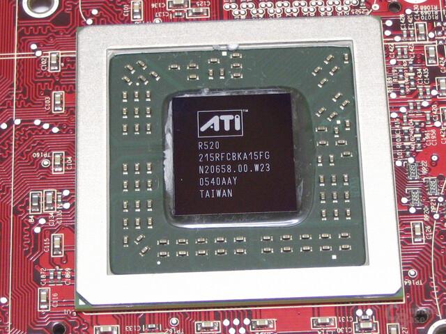 ATi Radeon X1800 GTO mit R520-Chip