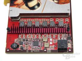 ATi Radeon X1800 GTO Spannungsversorung