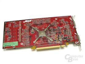 ATi Radeon X1800 GTO Rückseite