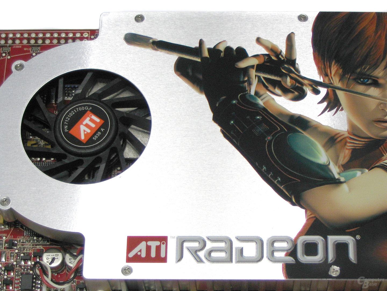 Kühler der ATi Radeon X1800 GTO