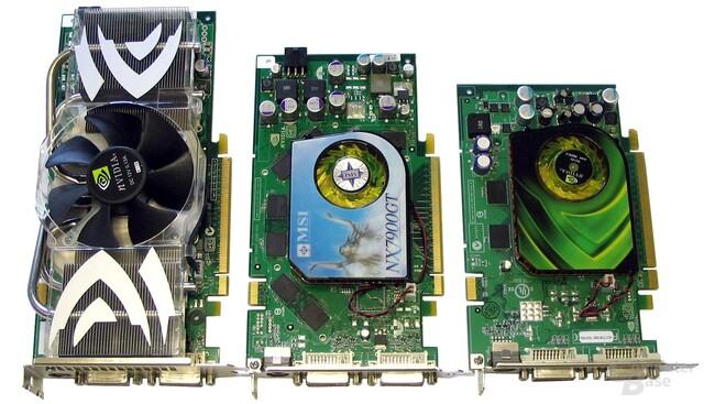 GeForce 7900 und 7600