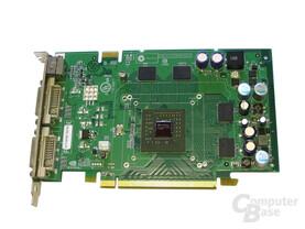 GeForce 7600 GT ohne Kühler