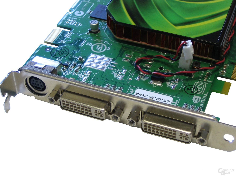 GeForce 7600 GT Slotblech