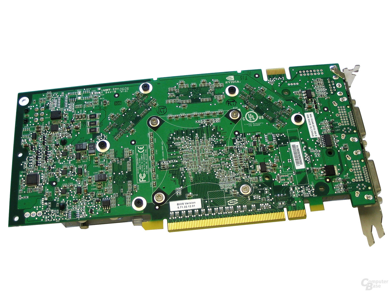 GeForce 7900 GTX Rückseite