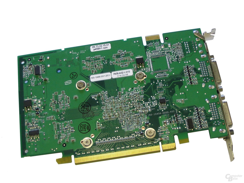 Rückseite GeForce 7600 GT