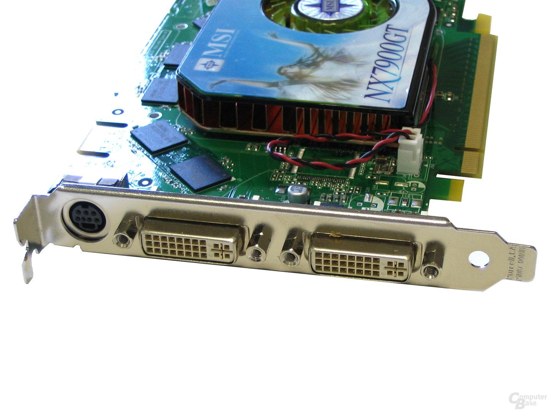 Slotblende GeForce 7900 GT