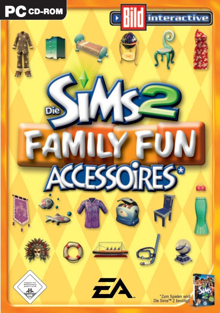 Die Sims 2: Family Fun - Packshot