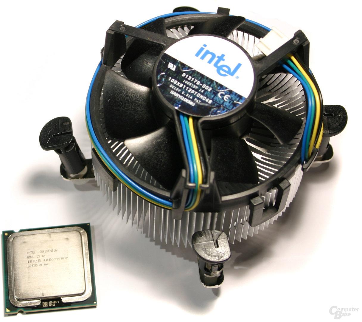 Intel Pentium XE 965 mit Boxed-Kühler