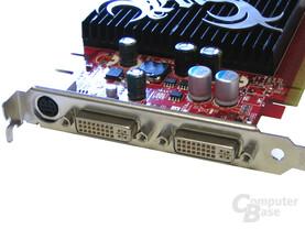 MSI NX7600 GS Slotblech