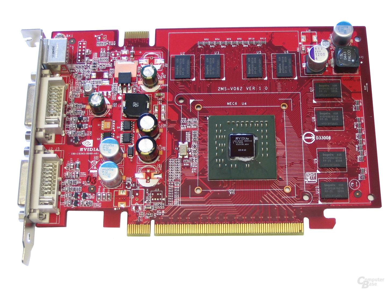 MSI NX7600 GS ohne Kühler