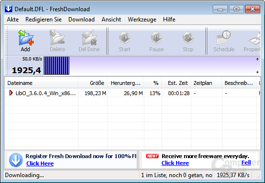 Fresh Download – Downloading...