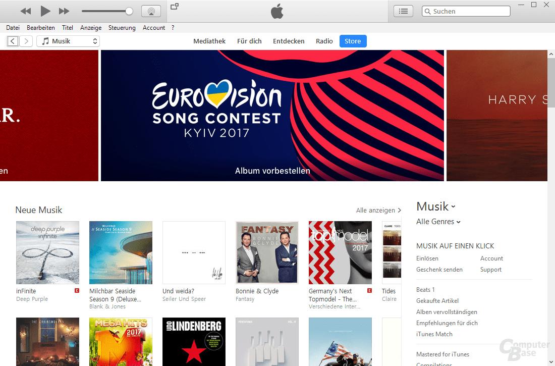 iTunes – Übersicht