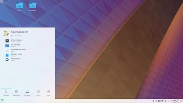 KDE Plasma 5.11