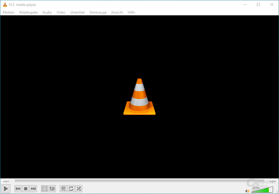 VLC media player – Oberfläche