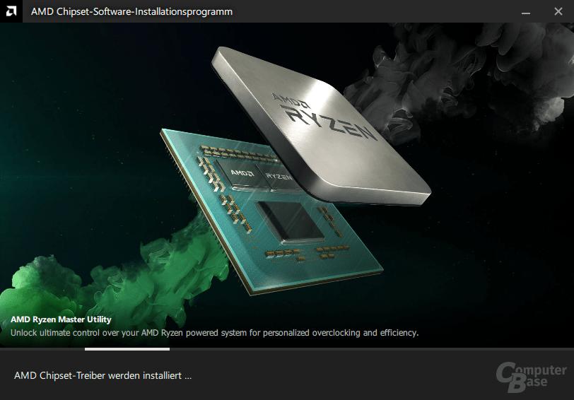 AMD Chipsatztreiber – Installation