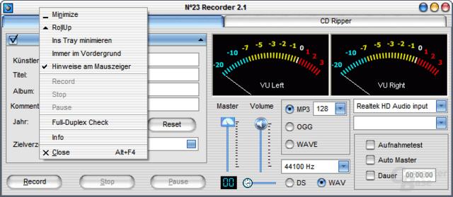 N°23 Recorder 2.1