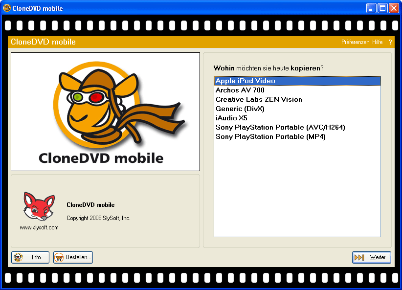 CloneDVD mobile 1.6.1.5 Multilingual Portable