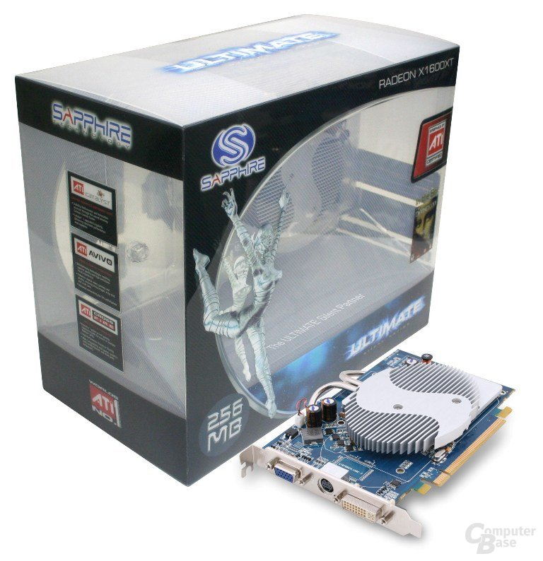 Sapphire Radeon X1600 XT Ultimate
