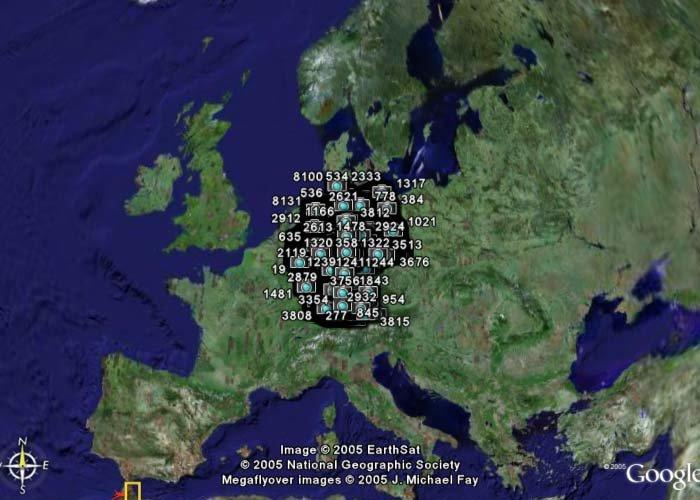Radarfallen-Plugin für Google Earth – Deutschland gesamt