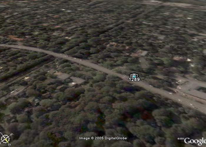 Radarfallen-Plugin für Google Earth – Hamburg, Robert-Schumann-Brücke