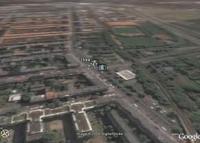 Radarfallen-Plugin für Google Earth – Berlin, Scharnweberstraße