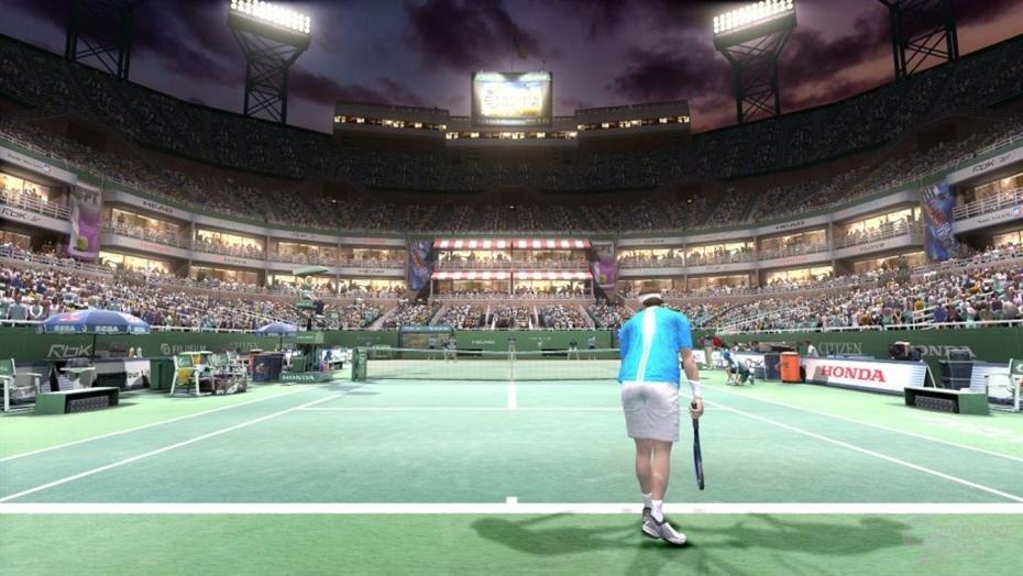 Bilder der Arcade-Version von Virtua Tennis 3
