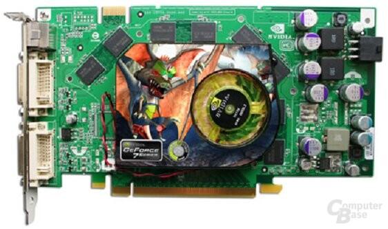 Point of View GeForce 7900 GT mit 512 MB Speicher