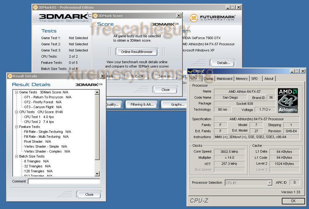 AMD Athlon FX at 3,6 GHz