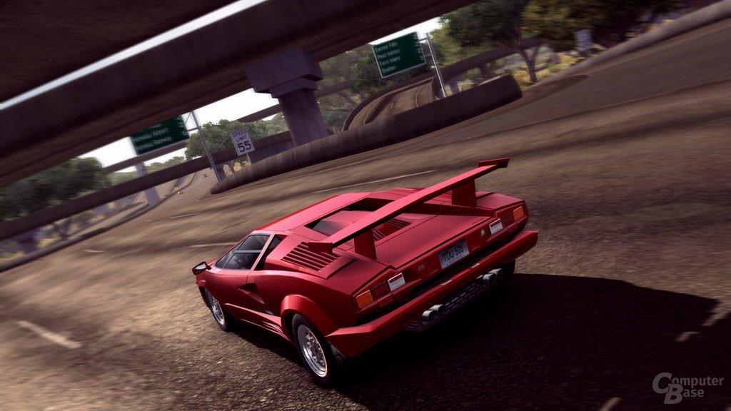 """Bilder aus der PC-Version von """"Test Drive Unlimited"""""""