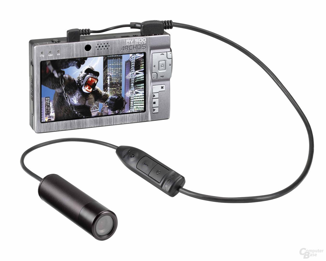 Archos AV 500 mit Kamera