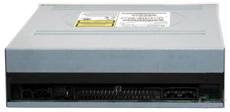 Plextor PX-750A - Anschlüsse